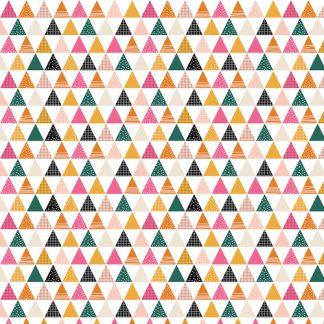 Tissu Geo Forest - Triangles