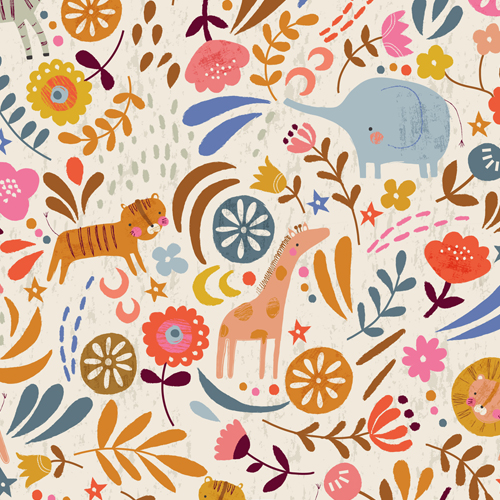 Tissu Meadow Safari 1364