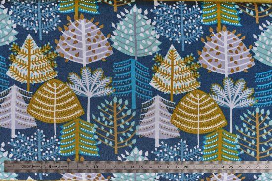 Tissu Snow Forest