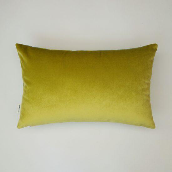 coussin createur Ln Fabrics haut de gamme tissu à feuillages Kenzo