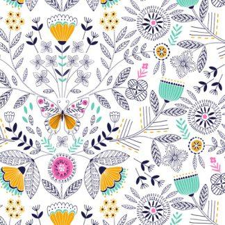 Tissu coton imprimé Dashwood studio