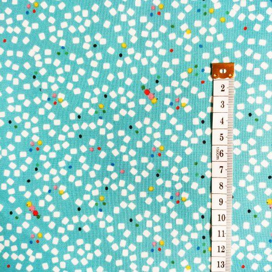 tissu coton imprimé confettis eden pop dashwood studio