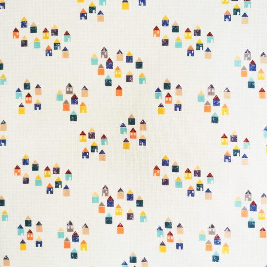 Coton imprimé géométrique Dashwood Studio parfait pour tous les projets couture