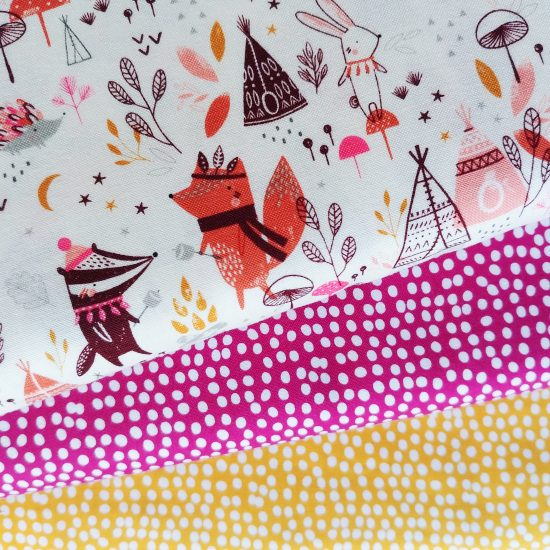 tissu imprimé dashwood studio under the stars loisirs créatifs couture patchwork