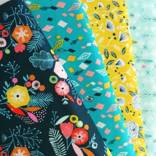 tissu imprimé dashwood studio flock loisirs créatifs couture patchwork