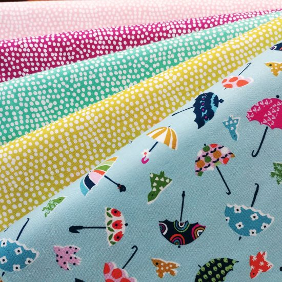 tissu imprimé dashwood studio walk in the woods loisirs créatifs couture patchwork