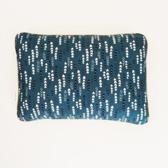 coussin imprimé Ln Fabrics createur tissu Dashwood studio