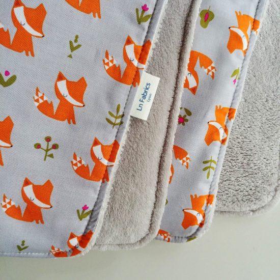 couverture chaude bébé ouatinée coton imprimé Dashwood studio