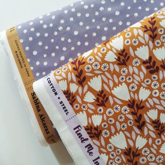 Coton imprimé Find Me Ibiza Cotton and Steel idéal pour la couture, loisirs créatifs et le patchwork