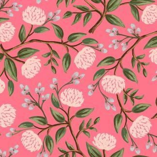 Tissu en coton imprimé à fleurs Rifle Paper Co Wildwood