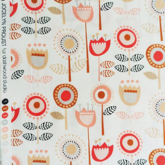 Tissu imprimé Dashwood studio aux motifs à fleurs vintage